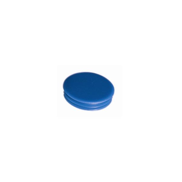 Deckel, blau, für 21-mm-Spannzangen-Drehknopf