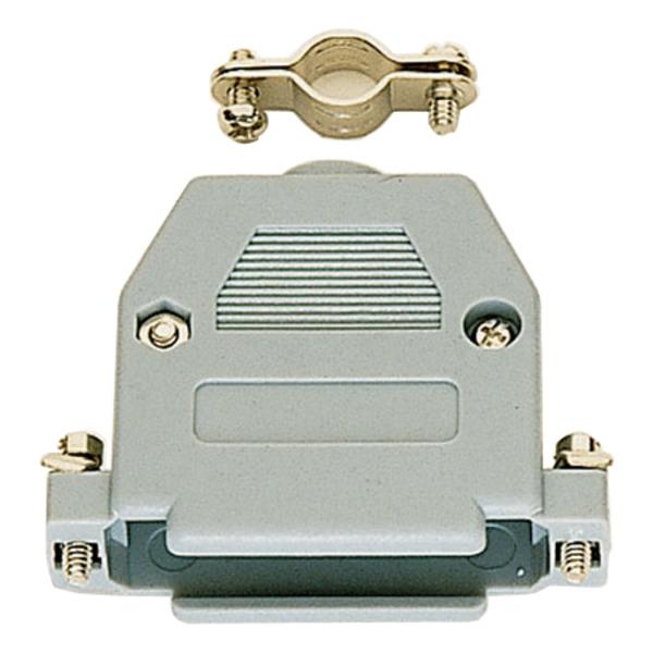 SUB-D-Kunststoffgehäuse, 25-polig