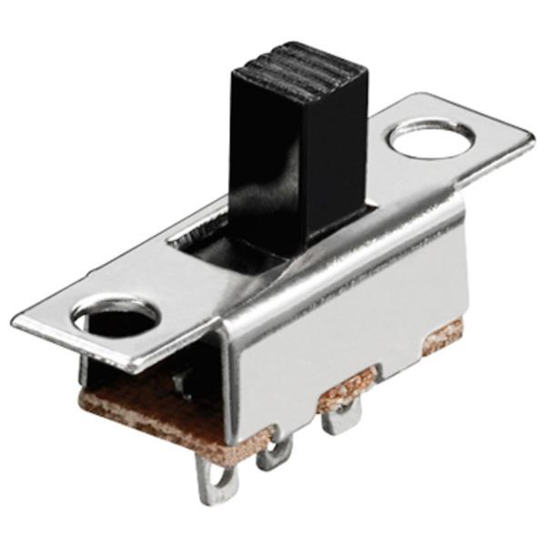 Schiebeschalter, 0,1 A/150V, 3 Pins, 1x um
