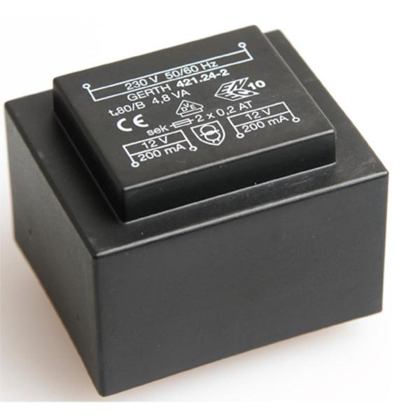 GERTH Transformator 421.24.2 (2 x 200 mA)