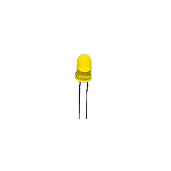 LED 5 mm, Gelb