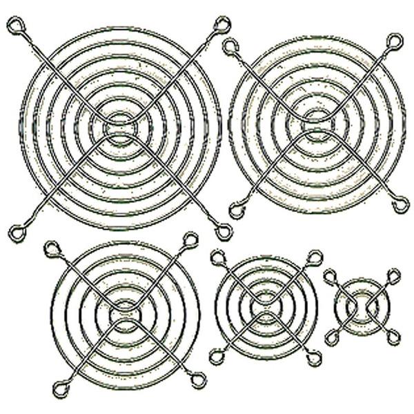 Fingerschutzgitter für Axial-Lüfter 120 x 120 mm