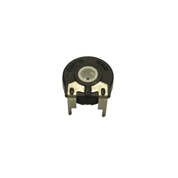 Trimmer PT 15 NV 500K, für Steckachse, liegend, 500 kOhm