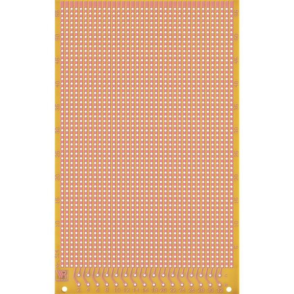 Laborkarte, Streifenraster