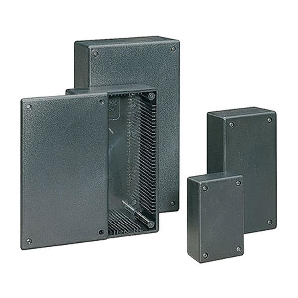 Universalgehäuse Micro schwarz, 84x31x54 mm