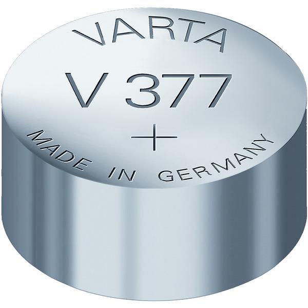 Varta Batterie, Typ V377 (AG4 , LR 626, SR 626)