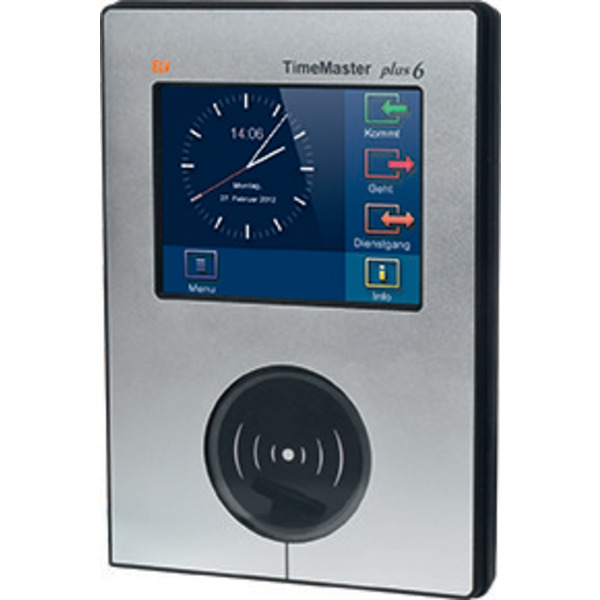 """ELV TimeMaster Erfassungsterminal """"Plus 6"""", schwarz"""