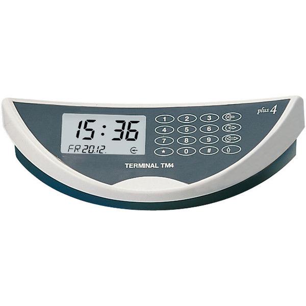 """ELV TimeMaster Zeiterfassung Komplettsystem """"Plus 4"""", weiß/dunkelgrau"""