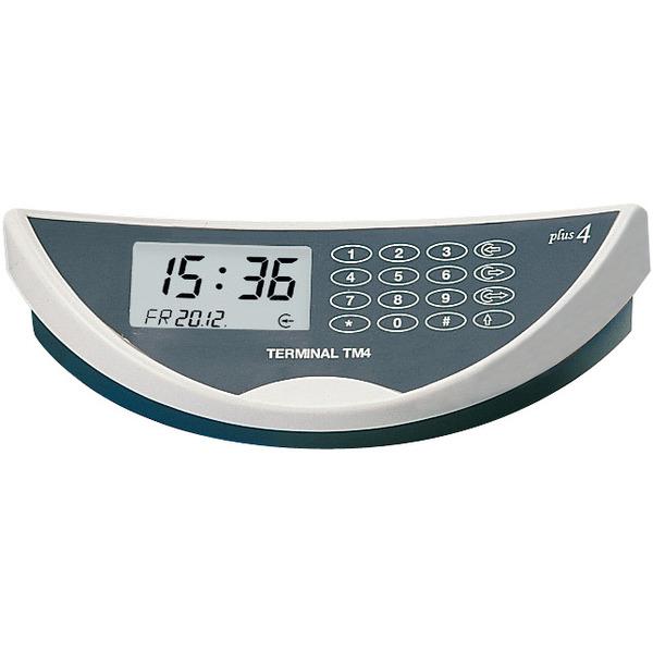 """ELV TimeMaster Erfassungsterminal """"Plus 4"""", weiß/dunkelgrau"""