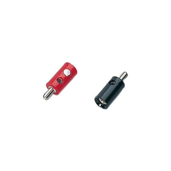 Miniaturstecker, Rot, 2,6 mm
