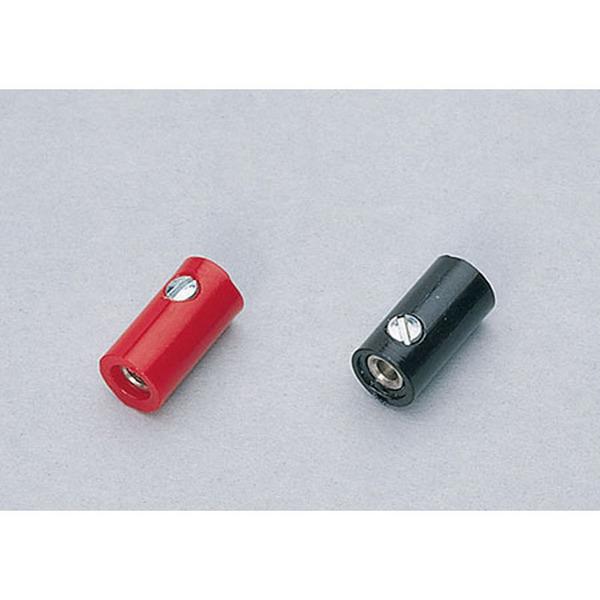 Miniaturkupplung, Schwarz, 2,6 mm