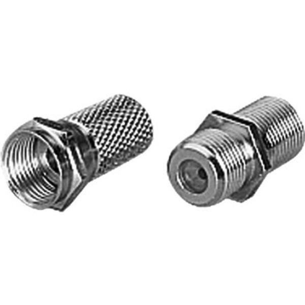 F-Aufdrehstecker für Kabel bis 4 mm