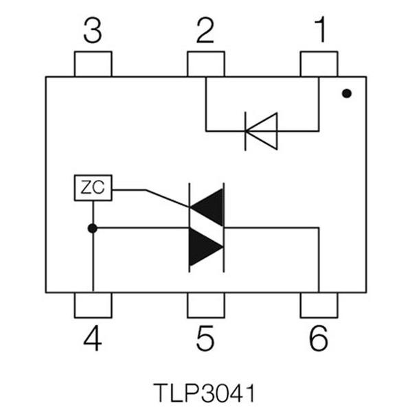 Opto-Triac TLP 3041