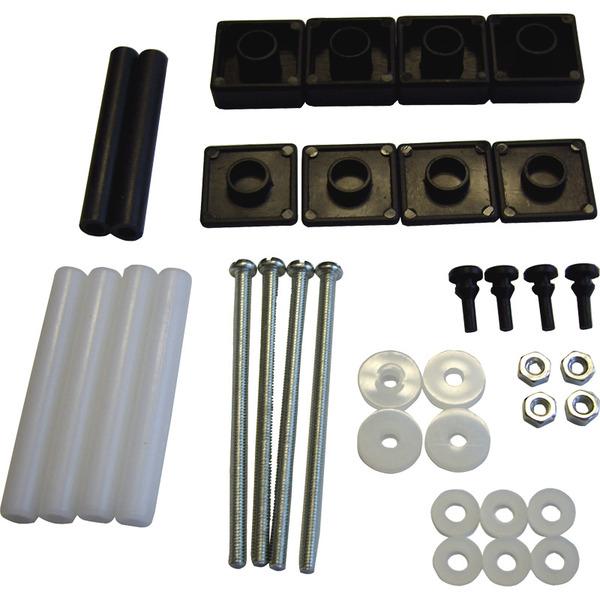 ELV Serie 7000 Montage-Zubehörsatz (36-teilig), schwarz