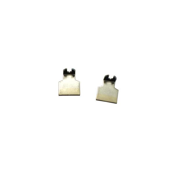 ELV Zusatz-Lötspitzenpaar, 15 mm für IC (SOT, FP, DIP), TWZ 80 und TWZ 90