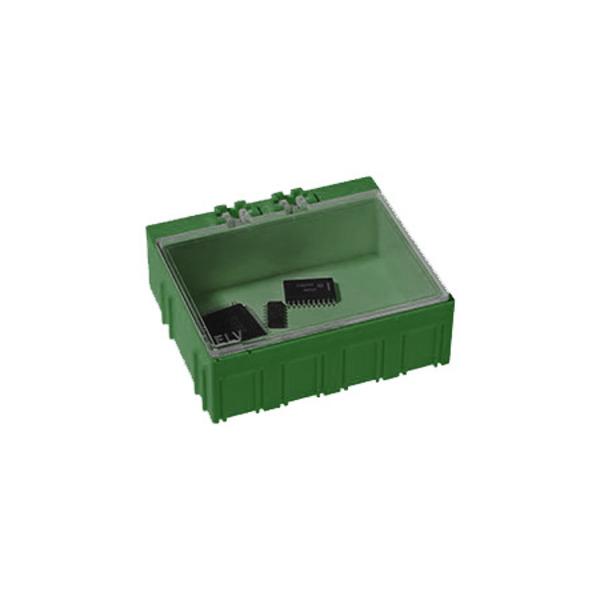 SMD-Sortierbox, Grün, 10 St., 23 x 62 x 54 mm
