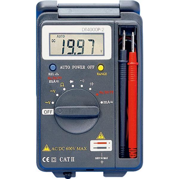 ELV Digital-Multimeter DT 4000P-2