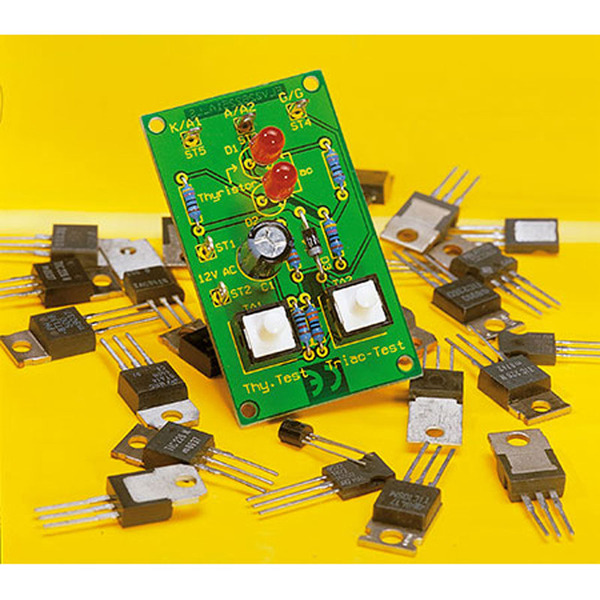 Komplettbausatz Thyristor-/Triac-Tester TT 100