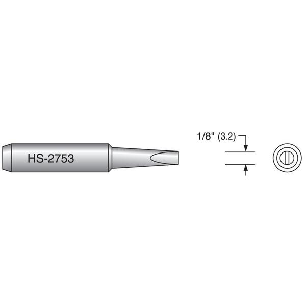 Plato ELV LS 60 Meißelform 3,2 mm