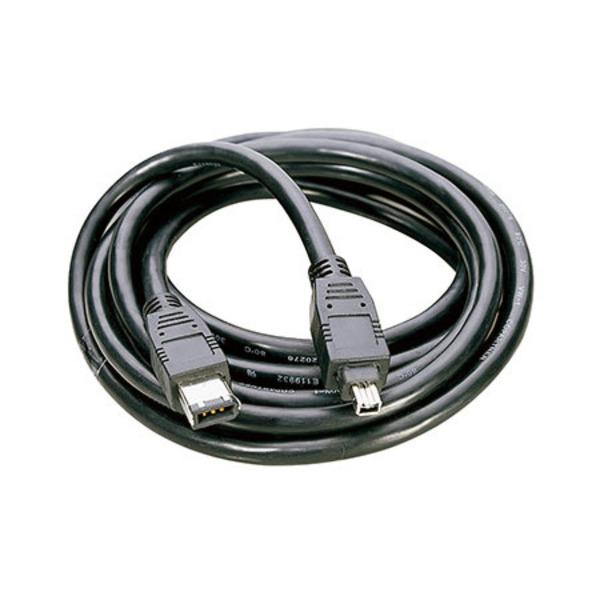 Firewire-Kabel, 4-pol. Stecker auf 4-pol.Stecker 1,8 m