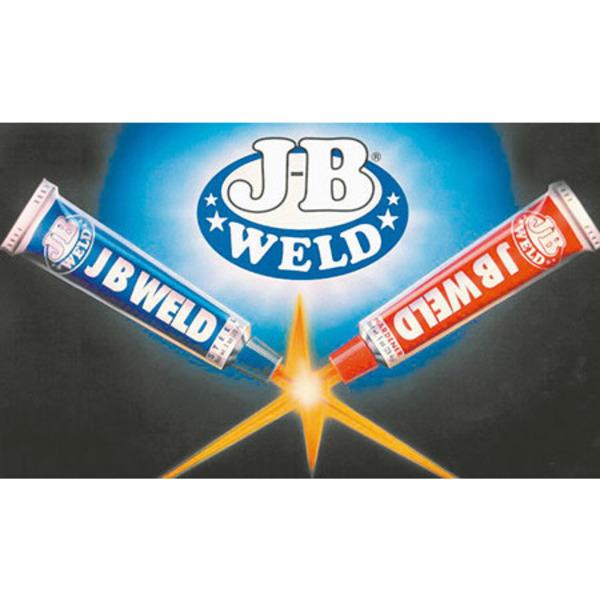 J-B Autoweld 2-Komponenten-Schweißkleber, 2x 28 g