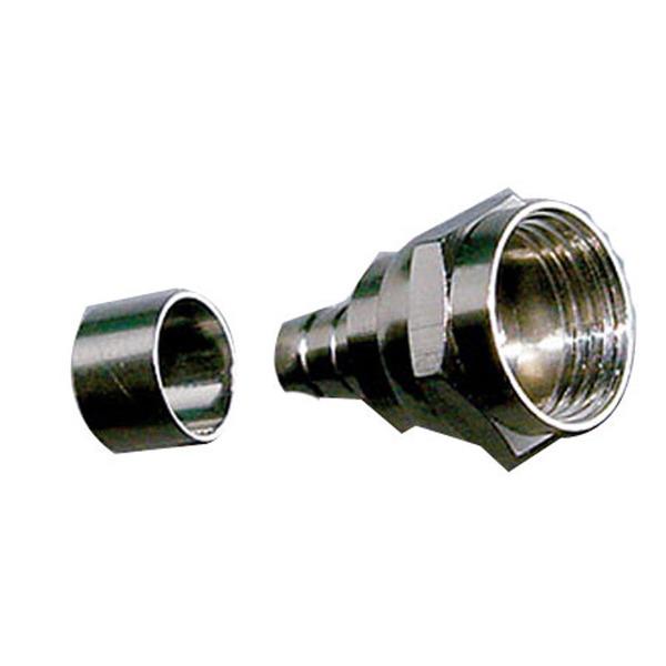 F-Stecker für Kabel bis 6 mm (RG-59)