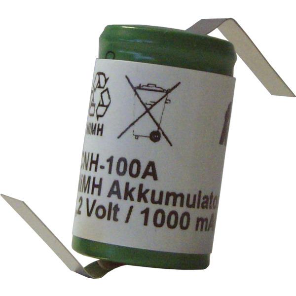 Cellcon NiMH-Zelle CNH-100A-1Z, 1000 mAh