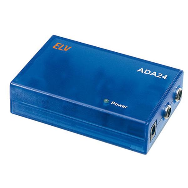 24-Bit-Audio-D/A-Wandler ADA 24, Komplettbausatz