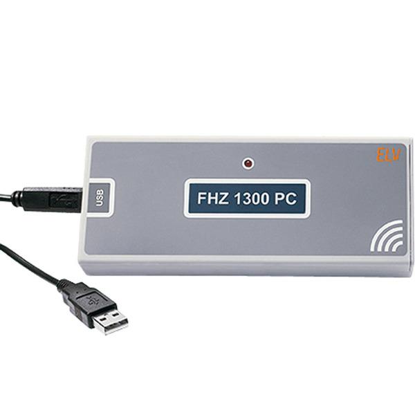FHZ 1300 PC (mit KS-300-Empfang) inkl. Software zur Ansteuerung der FS20-, HMS-100- und FHT 80b-Komp