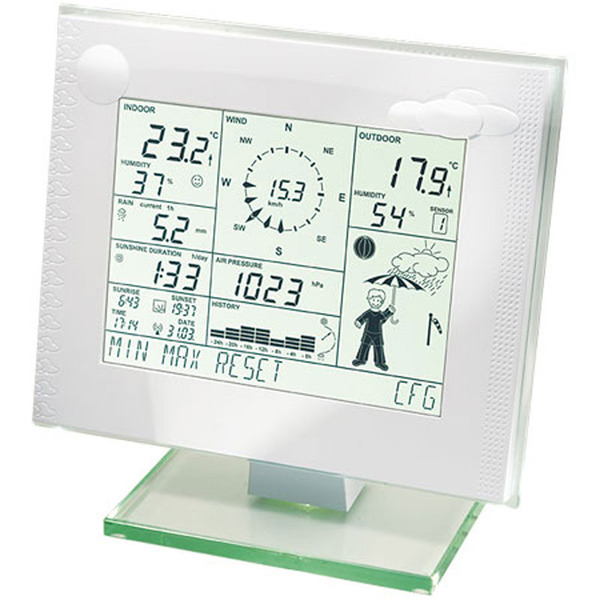 ELV WDC 7000 Funk-Wetterstation + OC 3 Funk-Kombi-Sensor