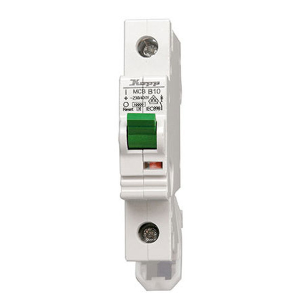 Kopp GREEN ELECTRIC MCB, 10 A, 1-polig