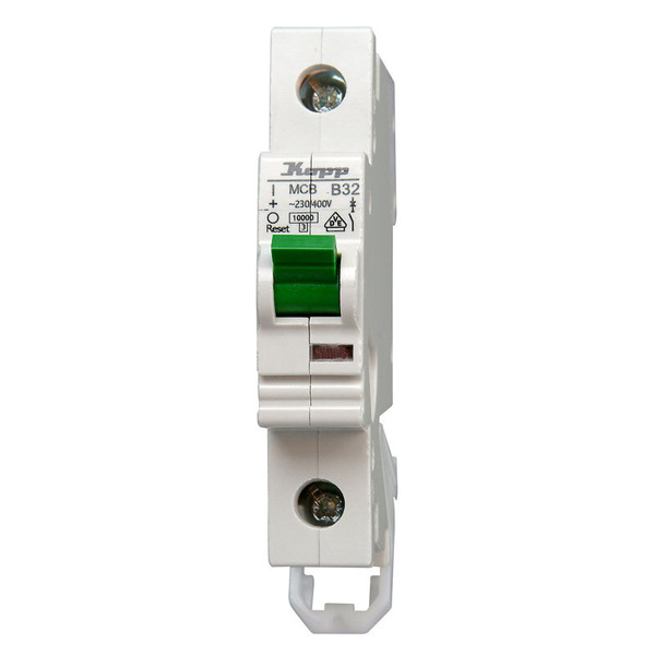 Kopp GREEN ELECTRIC MCB, 16 A, 1-polig
