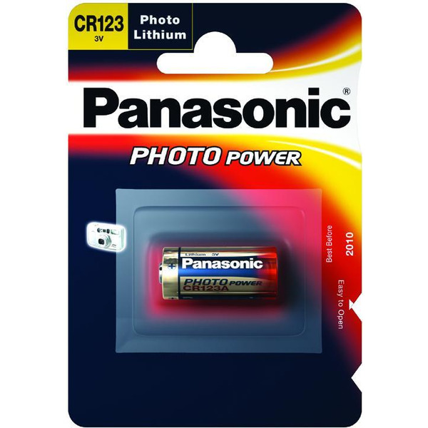 Panasonic Foto-Lithium-Batterie CR123A