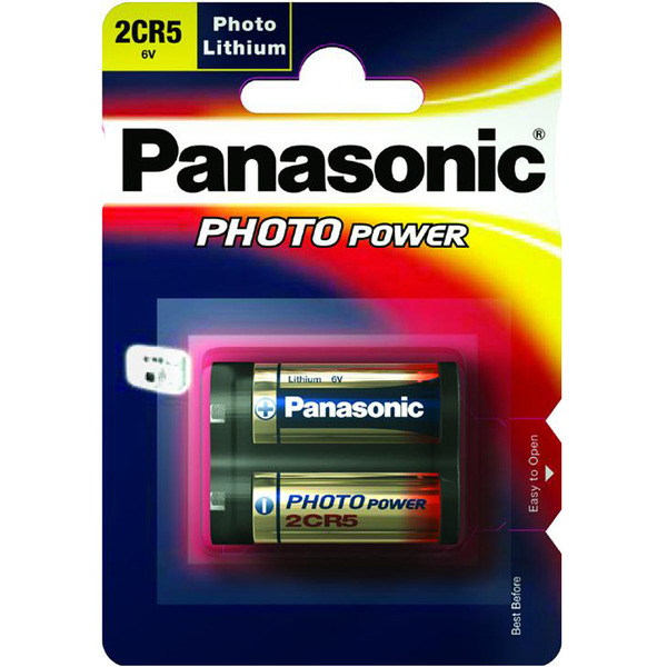 Panasonic Foto-Lithium-Batterie 2CR5