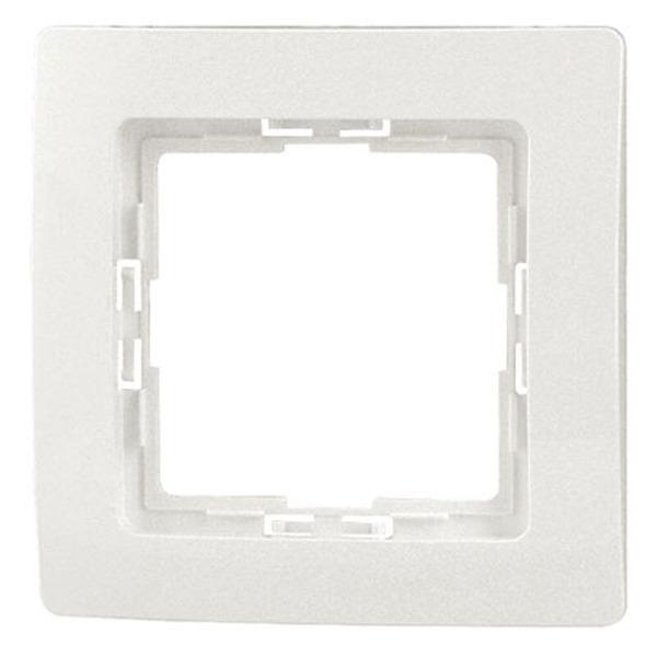 Kopp Objekt HK 05 Rahmen - Weiß, 1fach