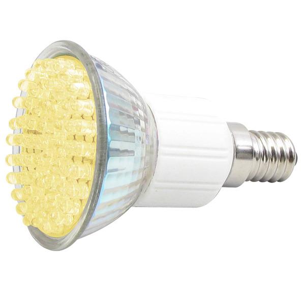 LEDGalaxy LED-Strahler mit 60 LEDs, E14, 200 Lumen, Warmweiß