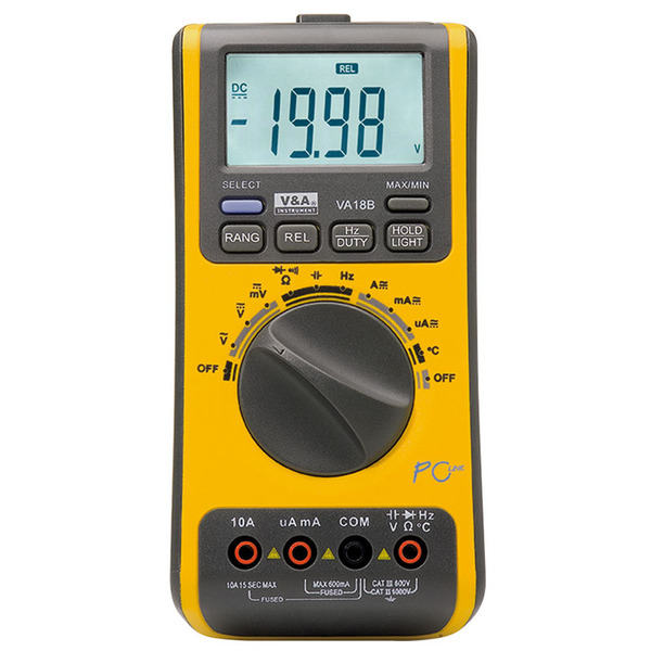 ELV Digital-Multimeter VA18B mit PC-Software