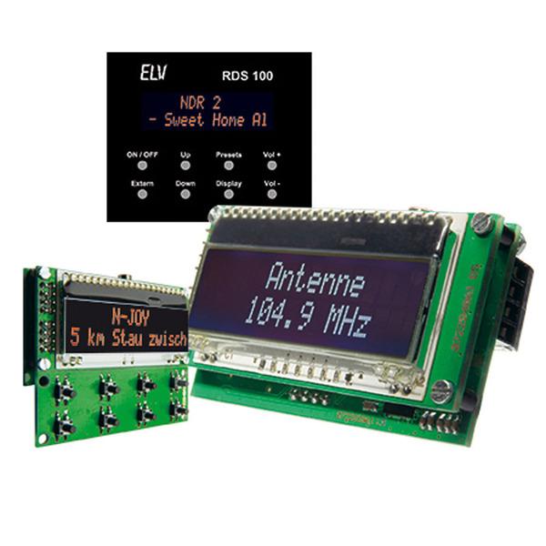 Mini-Stereo-RDS-Radio-Modul RDS 100, Komplettbausatz
