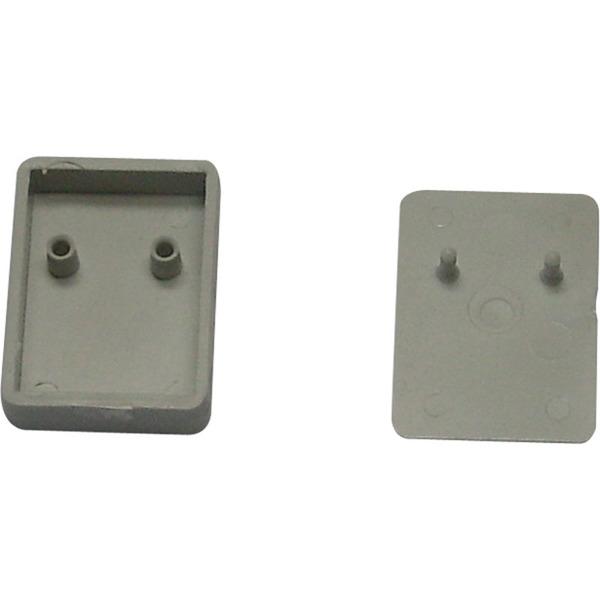Mini-Kunststoffgehäuse DRO3, hellgrau,