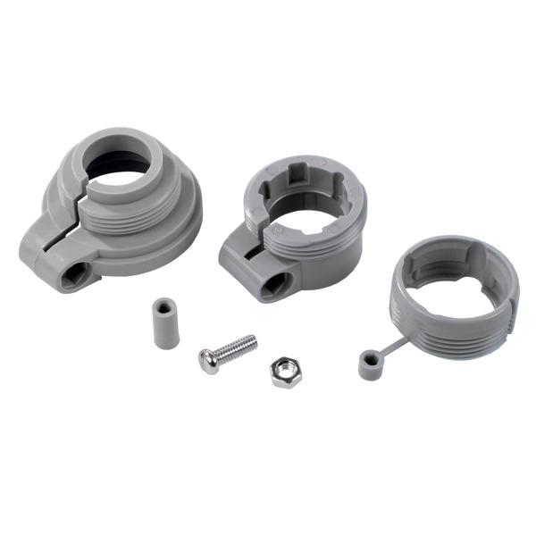 ELV Adapter-Set für Heizungsventil Danfoss RA, RAV, RAVL (Kunststoff)