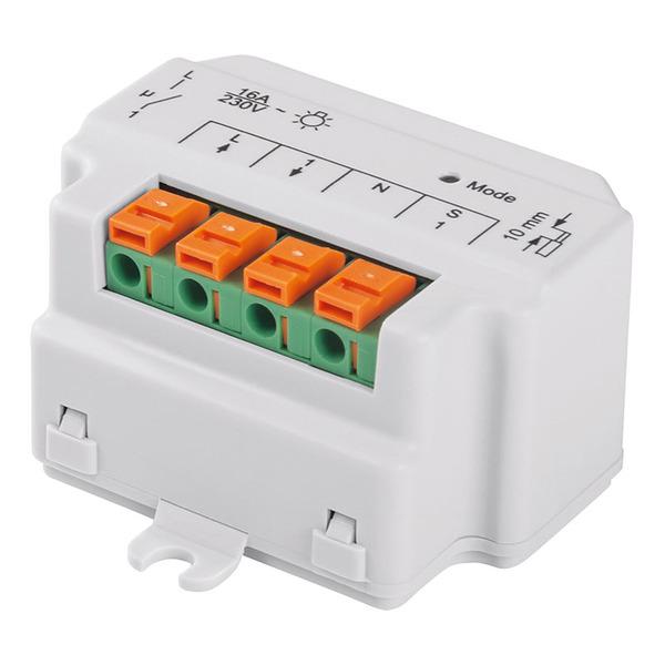 Homematic Unterputzschalter, 1fach HM-LC-SW1-FM für Smart Home / Hausautomation