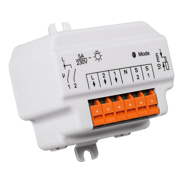 Homematic Funk-Schaltaktor 2fach, Unterputzmontage HM-LC-Sw2-FM für Smart Home / Hausautomation