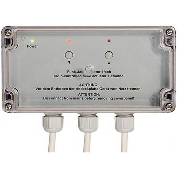 Homematic Funk-Rollladenaktor 1fach, Aufputzmontage HM-LC-Bl1-SM für Smart Home / Hausautomation