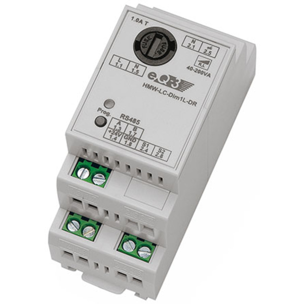 Homematic HMW-LC-Dim1L-DR, Phasenanschnitt für Smart Home / Hausautomation
