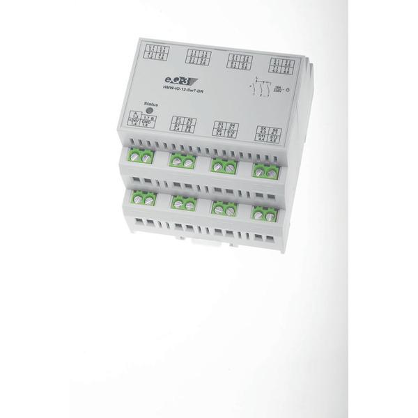 Homematic Wired RS485-I/O-Modul 12 Eingänge, 7 Schaltausgänge HMW-IO-12-SW7-DR