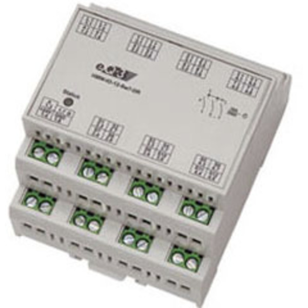 Homematic Wired RS485-I/O-Modul 12 Eingänge, 7 Schaltausgänge HMW-IO-12-SW7-DR für Smart Home / Haus
