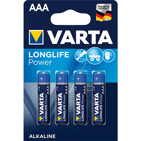 Varta Longlife Power AAA, 4er Pack