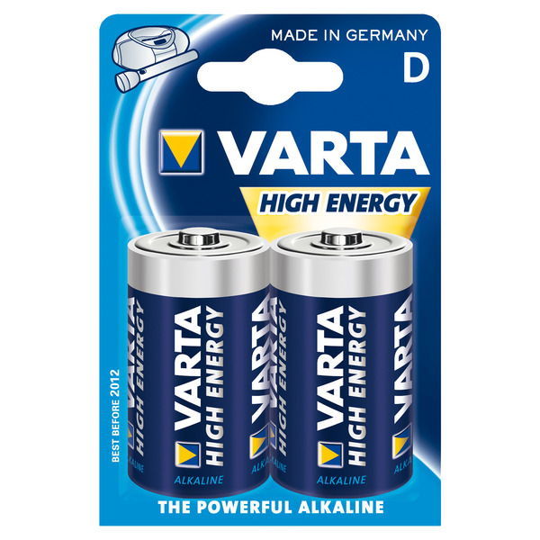 Varta Longlife Power D Blister, 2er Pack