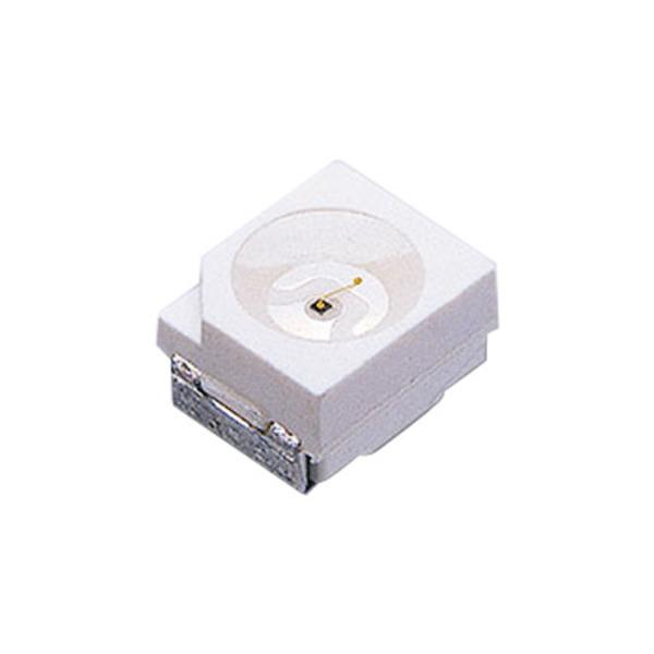 SMD-LED Grün Superhell, Bauform TOP (PLCC), 10er Pack