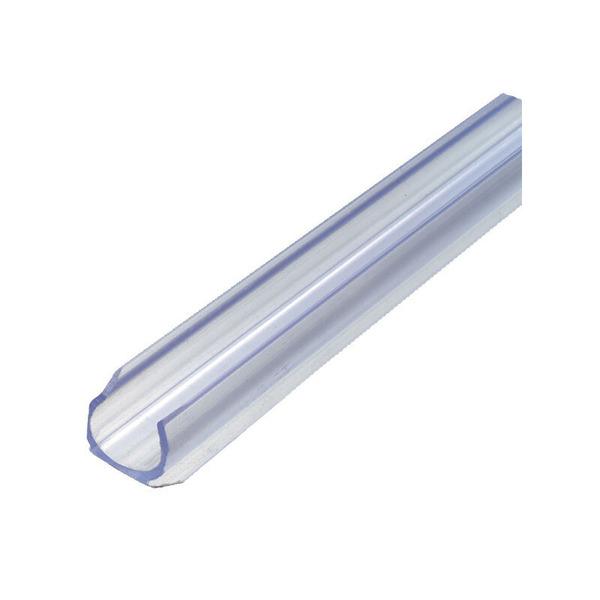 GEV Kunststoff-Clipschiene für Lichtschläuche 90 cm
